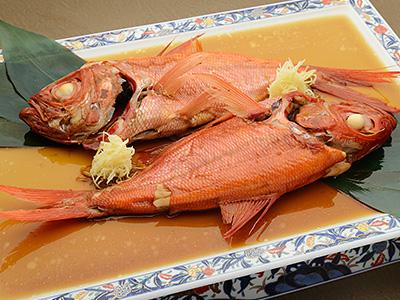 金目鯛の姿煮腹合わせ(2匹)