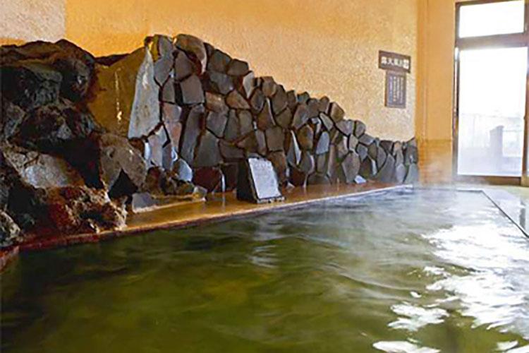 大浴場【海色】お茶風呂