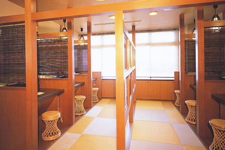 大浴場【空色】