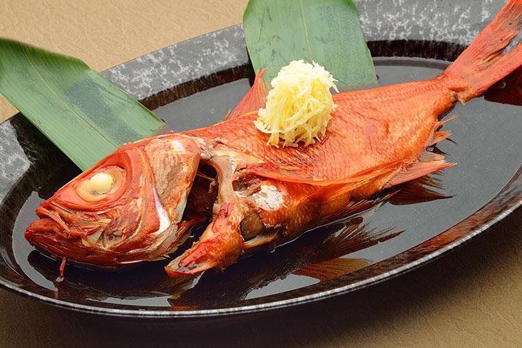 金目鯛の煮つけ祭 in 東伊