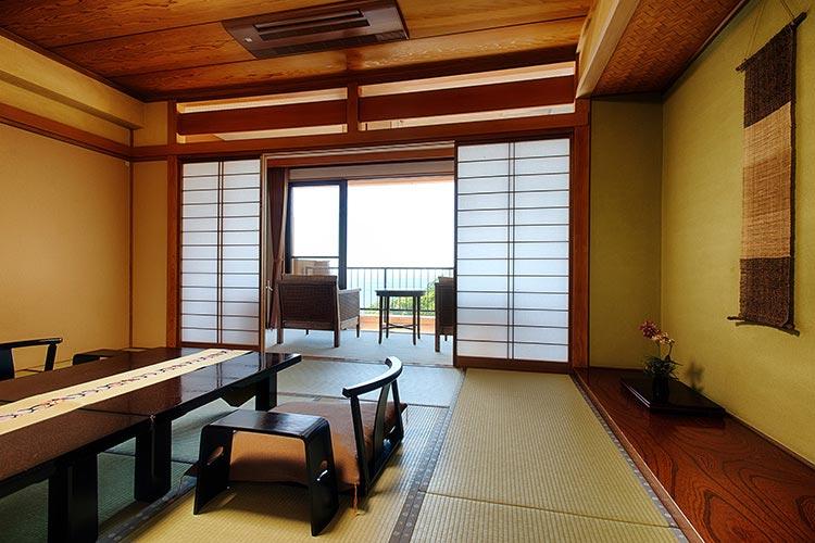 檜香る源泉露天風呂付客室
